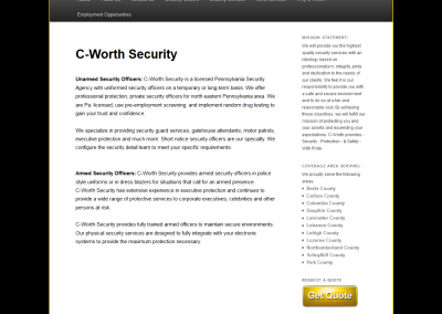 C-WORTH Security Services