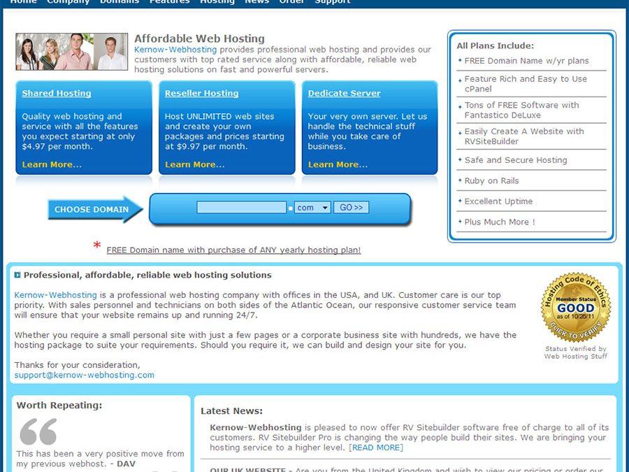 Kernow-Webhosting